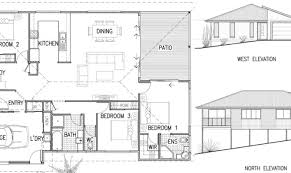House Plans With Elevations And Floor Plans 27 Home Elevation Plan Ideas Building Plans Online 25235