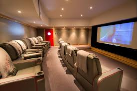 Home Usa Design Group Edina Movie Theater For A Contemporary Home Theater With A Curtain