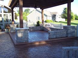 Concrete Decks And Patios Patios And Pool Decks In Decorative Concrete