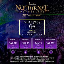 nocturnal 2015 payment plans are here insomniac