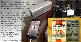 Dave hoekstra 39 s website dave hoekstra is a chicago author