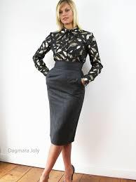high waisted pencil skirt pencil skirt haigh waist dagmara joly