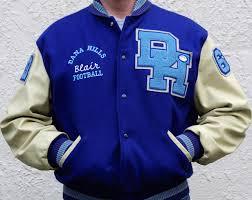 dana hills high varsity letterman jackets