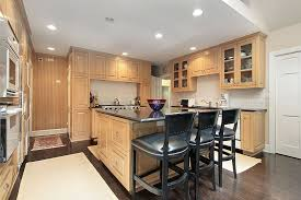 Light Wood Kitchen Light Wood Kitchen Cabinets With Black Countertops