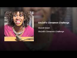 Challenge Glozell Glozell S Cinnamon Challenge Glozell Green Shazam