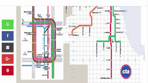Metro Chicago Map by Chicago Metro Green Pink Line Service Youtube