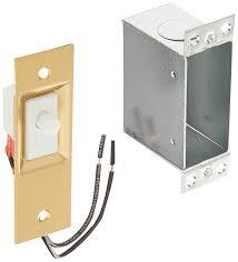 Pressure Switch For Cabinet Door Amazon Com Lee Electric 209dn 600 Watt Door Light Switch Home