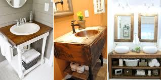 pretty design diy bathroom vanities 13 crazy creative diy ideas