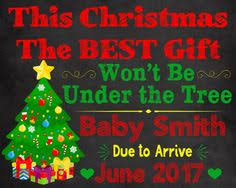 christmas pregnancy announcement fall is in the air baby announcement pregnancy announcement sign