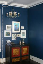dark blue painted rooms home design