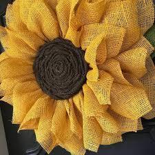 burlap sunflower wreath crafty morning burlap sunflower wreath how gorgeous is