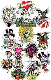 design me a wrist tattoos designs letter j ed hardy skull