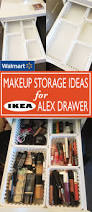 Bathroom Makeup Storage Ideas by Walmart Makeup Storage Ideas For Ikea Alex Drawers Walmart