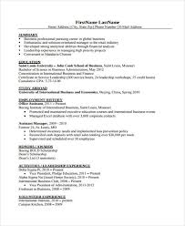 administration resumes 25 modern business resume templates free u0026 premium templates