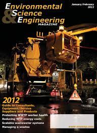 Environmental Science U0026 Engineering Magazine January February 2012