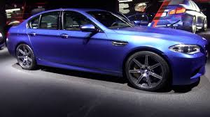 facelift frozen blue bmw m5 f10 competition package with led
