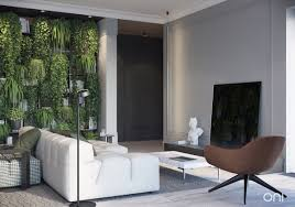 cozy home design ideas in moscow using a natural plant which