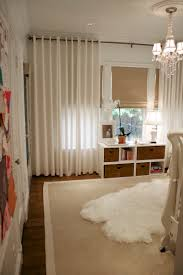 decor dark extra long curtain rods with white grommet curtains