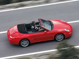 convertible porsche red porsche 911 carrera 4s cabriolet 997 specs 2005 2006 2007