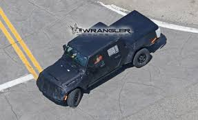 2018 jeep wrangler pickup brute jeep pickup jt spied with production intent bed 2018 jeep