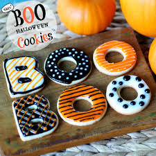 Sugar Cookies For Halloween Boo Halloween Cookies