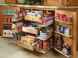 Storage Containers For Kitchen Cabinets Pull Out Food And Spice Rack Storage Cabi For Saving Small Kitchen