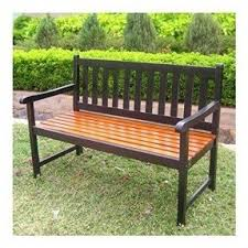 Wood Outdoor Bench Oak Garden Benches Foter