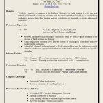 Higher Education Resume Samples by Free Resume Templates 85 Breathtaking Sample Format For Gulf