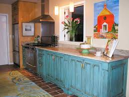 Turquoise Kitchen Island by Kitchen Island Legs Hgtv