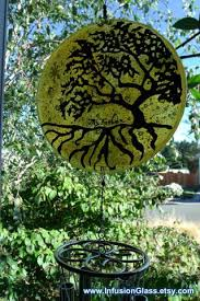 cremation tree cremation glass wind chime tree of ashes infused glass