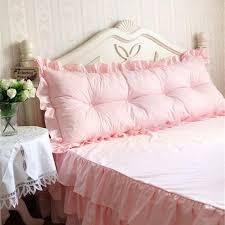 big bed pillows new big bed cushion ruffle handmade bedhead cushions princess bed