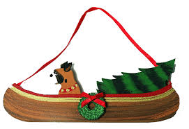 boxer canoe ornaments lover gifts for the
