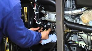 cambio de aceite generadores diesel kipor youtube