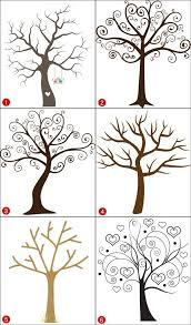 baby shower fingerprint tree baby shower fingerprint tree sign guest book alternative welcome
