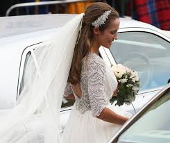 kim sears pulls a kate middleton on her wedding day look