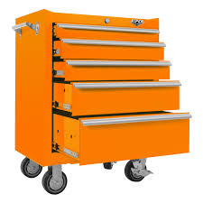 Rolling Tool Cabinet Sale Viper Tool Storage 26 Inch 5 Drawer 18g Steel Rolling Cabinet Orange