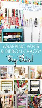 how to store wrapping paper and gift bags organizing with style genius wrapping paper organizer ideas