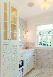 Bathroom Tower Cabinet Bathroom Linen Tower Cabinet Foter