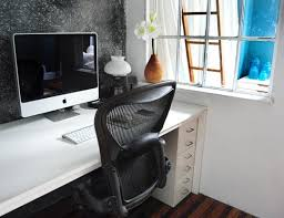 ways to brighten up a dark loft desk apartment therapy