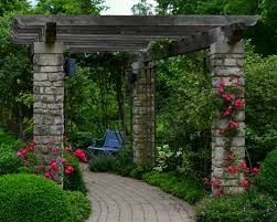 English Garden Pergola by Travel And Design Wegerzyn Gardens Horticulturehorticulture