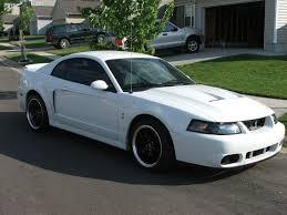 White Mustang With Black Wheels Black Fr500 Wheels Svtperformance Com