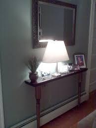 create a custom sofa table for small spaces hallways small