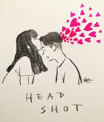 drawn kiss art love pencil and in color drawn kiss art love