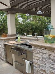 Cabinets For Outdoor Kitchen Outdoor Kitchen Light Colored Quartz Countertop Google Search