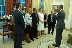 president obama in the oval office president obama recognizes teaching excellence of ub professor wbfo