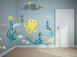 Cool Wall Decals by Wall Cool Kids Bedroom Wall Decals 2017 Style Home Design Intended