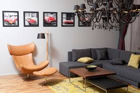 most comfortable chair for reading brown leather chair with stool as foot rest also silver steel