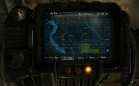Fallout 3 Maps by An Enhanced Enclave Pipboy World Map At Fallout3 Nexus Mods And
