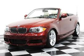bmw convertible 1 series 2013 used bmw 1 series certified 135i m sport convertible tech
