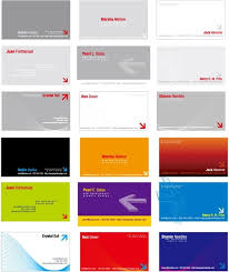 corel draw business card template free vector 116 462